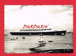 """Lancement Du Paquebot """" FRANCE """" à ST-NAZAIRE En 1960 ... - Dampfer"""