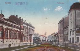 Yugoslavia Serbia Vojvodina Ujvidek Novi Sad Petoffy Utca,Tramway - Tranvía