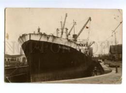 139764 Ship CALEDONIER Freighter Vintage Postcard - Bateaux