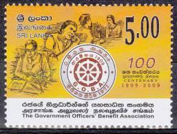 Sri Lanka 2009 Postfris MNH G.O.B.A. - Sri Lanka (Ceylon) (1948-...)