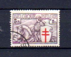 5F Chevalier, Grosse Valeur 400 Oblitéré, Cote 140 €, - Belgium