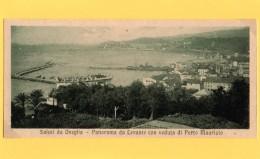 SALUTI DA ONEGLIA - IMPERIA - CARTOLINA MIGNON EPOCA 1920 EDIZ. BERNARDINI - RARA - Imperia