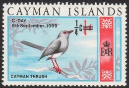 Cayman Thrush Mnh Stamp - Songbirds & Tree Dwellers