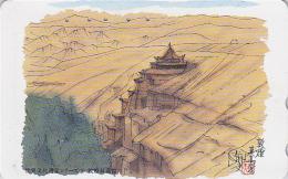 Télécarte Japon / 110-169869 - Série Peinture Site Asie 03/24 - Pagode Japonaise - Asia Rel.  Japan Phonecard - Japan