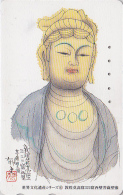 Télécarte Japon / 110-169870 - Série Peinture Site Asie - Religion 04/24 - BOUDDHA Japonais - BUDDHA Japan Phonecard - Japan