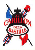 PARIS - CPM - 4ème Arrond - Au Carillon De La Bastille - Brasserie - Restaurant - Distretto: 04