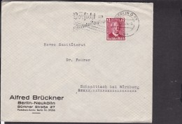 "Werbestempel Berlin "" Vorsicht An Eisenbahnübergängen "" 1936 - Germany"