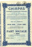 Mexique/Mexico: CHIAPAS  Compagnie Commerciale D'Outremer - Unclassified