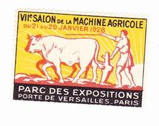 Vignette VIIe Salon De La Machine Agricole - 1928 - Parc Des Expositions - Porte De Versailles - Erinnophilie