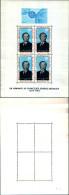 83659) Mauritania-1968-omaggio Al Cancelliere Konrad Adenauer-con Emblema Cept-BF-4-nuovo-cat-10 Euro - Mauritania (1960-...)