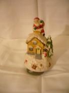 Spieluhr Weihnachtsmann Auf Hausdach (205) - Andere Sammlungen