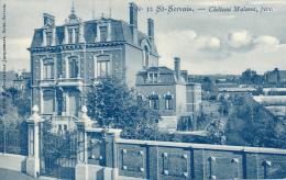Saint-Servais. (NAMUR). Chateau Malevez, Père. Edit: E. Gouverneur-Jacquemart, N°8. Voir Scan - Excellent - Namur