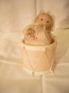 Spieluhr Baby In Trommel (208) - Andere Sammlungen
