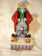 Spieluhr Clown Mit Marionette (211) - Andere Sammlungen