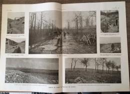 DOCUMENT ANNEES 1916 ASPECT DU CHAMPS DE BATAILLE DE VERDUN - Vieux Papiers