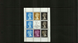 GREAT BRITAIN - QEII - 1990 - BOOKLET PANE - 8 Stamps + Centre Label - MNH - 1952-.... (Elizabeth II)