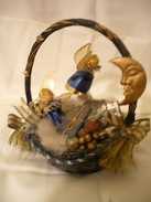 Spieluhr Weihnachtskorb Mit Engeln (215) - Andere Sammlungen