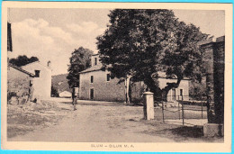 SLUM - SILUN Mont'Aquila - ISTRIA Small Village Near Lanisce ( Lanischie ) * Croatia * Travelled * Croazia Kroatien - Croatia