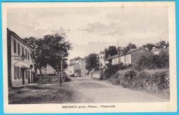 GIUSSICI ( Prov. Fiume ) - Panorama ...  ISTRIA ( Croatia ) Not Travelled * Croazia Kroatien * By I. Stein Cadel Trieste - Croatia
