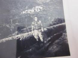 NOV 1944 PHOTO=>CHANTIER DE JEUNESSE-CDJ-SOUS PETAIN-E.M.A.G.-G.S.3-CIE T-126é BRGDE à VERSAILLES ANNEXE ARTOIS-MILICIEN - Guerre, Militaire
