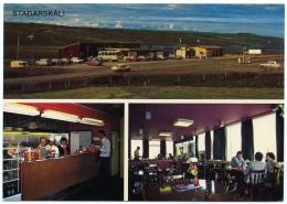 ICELAND : STADARSKALI - CAFETERIA I HRUTAFJORDUR - Iceland