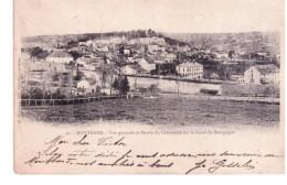 @ Montbard - Vue Générale Et Bassin Du Commerce Sur Le Canal De Bourgogne - Montbard