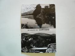 Cartosio - Saluti Da -  Viaggiata 1954 - Alessandria