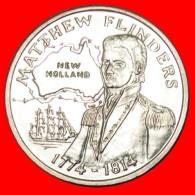 + SHIP: AUSTRALIA ★ MATTHEW FLINDERS 1774-1814 UNC MINT LUSTER! LOW START★NO RESERVE!!! - Professionals / Firms