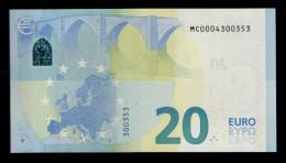 PORTUGAL 20 EURO M001 E6 - DRAGHI - M001 E6 - MC0004300353 - UNC - FDS - NEUF - EURO