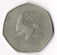 Ireland 1970 50p - Ireland