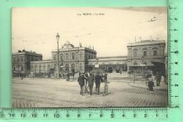 REIMS: La Gare, Plan Rare - Reims