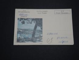 TURQUIE -  Carte Commerciale Des PTT En Port Payé Pour La France En 1977 - A Voir - L 2242 - Brieven En Documenten