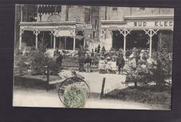 CPA 84 - AVIGNON - TB CP Exposition Cours Du Palais Des Papes Avec STANDS Dont SUD ELECTRIQUE ( Pas De Libellé ) 1907 - Avignon