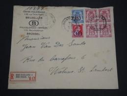 BELGIQUE - Enveloppe En Recommandée De Bruxelles - A Voir - L 2263 - Belgium