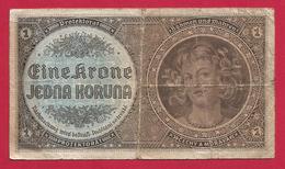 Billet De Banque Tchéquie - Tchéquie