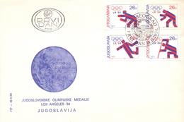 BEOGRAD JUGOSLAVIJA FDC OLYMPIC GAMES (SET160146)