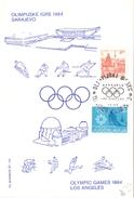 SARAJEVO 1984   OLYMPIC GAMES (SET160148)