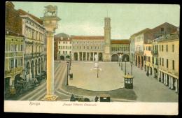 ROVIGO. Piazza Vittorio Emmanuele. (1906) 2 Scans. - Rovigo