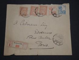 PAYS BAS / INDES - Enveloppe En Recommandée De Weltevreden En 1928 Pour Paris - A Voir - L 2276 - Indes Néerlandaises