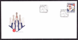 CZECHOSLOVAKIA 1987, UNUSED FDC COVER. Michel 2896. NINEPINS. Good Condition, See The Scans. - Petanca