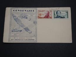 NOUVELLE CALÉDONIE - Enveloppe Souvenir En 1953 - A Voir - L 2292 - Nueva Caledonia