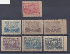 CAUCASE - 1923 -  N° 12 - 14 - 15 - 20 - 21 - 22 - 23 - Neufs - X - TB -