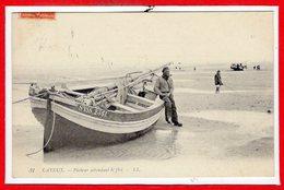 80 - CAYEUX Sur MER -- Pêcheur Attendant Le Flot - Cayeux Sur Mer