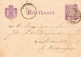 21 MEI 79 Bk Via UTR:-BOXTEL Takje Naar HAAREN Bij Oisterwijk - Poststempels/ Marcofilie