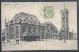 CPA BELGIQUE - Ostende, La Gare - Oostende