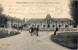 ROZOY EN BRIE - Les Communs Du Chateau De Breuil - Attelage   (90770) - Other Municipalities
