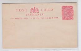 Tasmania MINT POSTAL CARD - 1853-1912 Tasmania