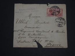 EGYPTE - Enveloppe Du Caire Pour La France Avec Contrôle Militaire En 1915 - A Voir - L 2314 - Égypte