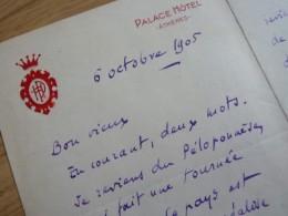 Georges BOURDON (1868-1938) Grand REPORTER Le Figaro. Journaliste SNJ Fondateur. AUTOGRAPHE - Autographs