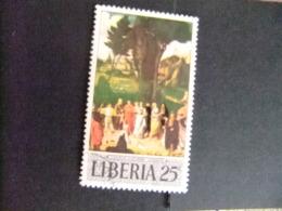 LIBERIA 1969 PINTURA  Yvert Nº 484 º FU - Liberia
